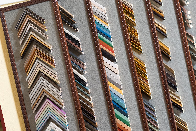 Relativ Bilderrahmen aus Holz und Alu auch aus eigener Werkstatt SO05